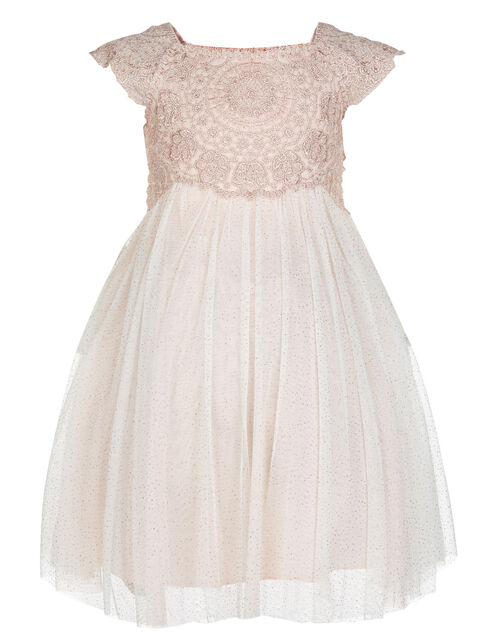 Baby Estella Dress, Pink (PINK), large