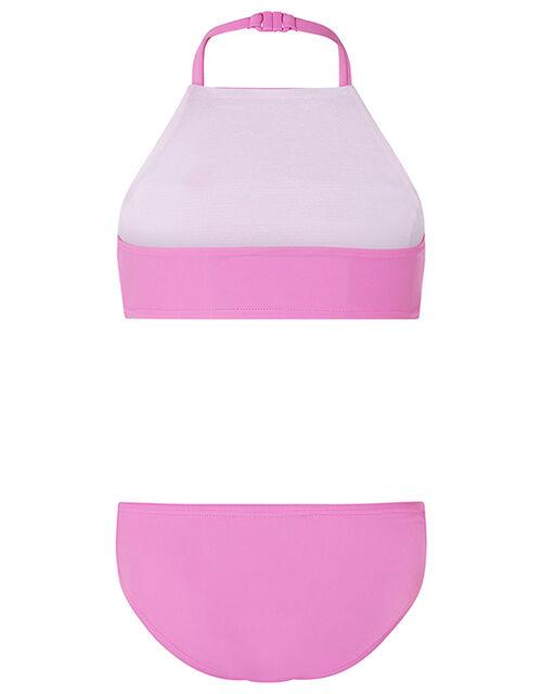 Reversible Sequin Bikini Set, Pink (PINK), large