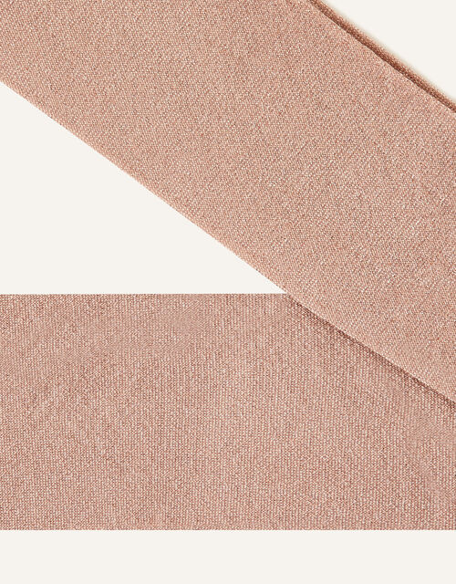 Sparkly Nylon Tights Rose, Gold (ROSE GOLD), large