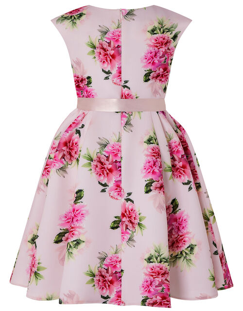 Deena Floral Scuba Dress, Pink (PINK), large