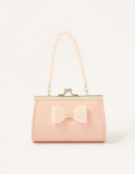 Dazzle Bow Shimmer Bag, , large