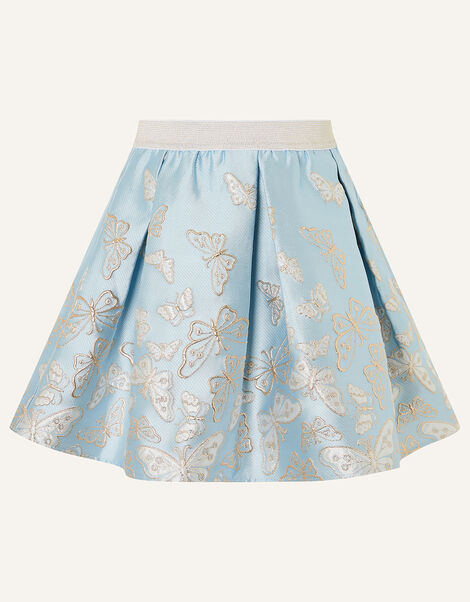 Cascading Butterfly Skirt  Blue, Blue (PALE BLUE), large