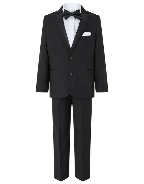 Benjamin Tuxedo Suit Set, Black (BLACK), large
