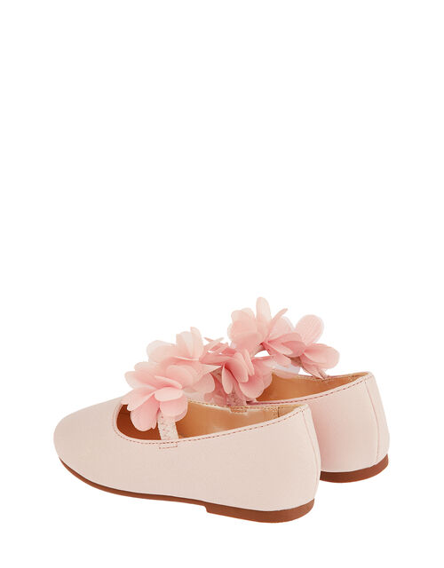 Baby Macaroon Corsage Walker Shoes, Pink (PALE PINK), large