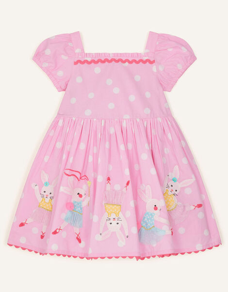 Baby Dancing Bunny Dress Pink, Pink (PINK), large
