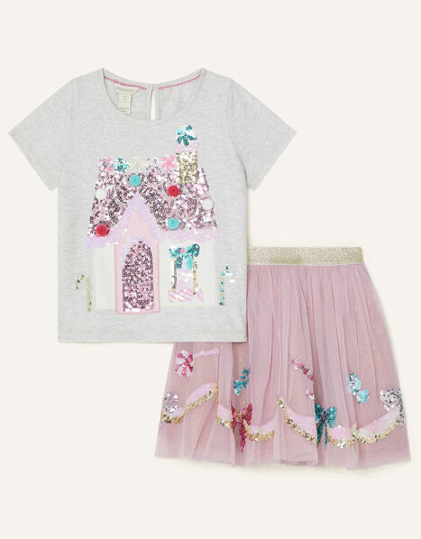 Party Sequin Set  Pink, Pink (PINK), large