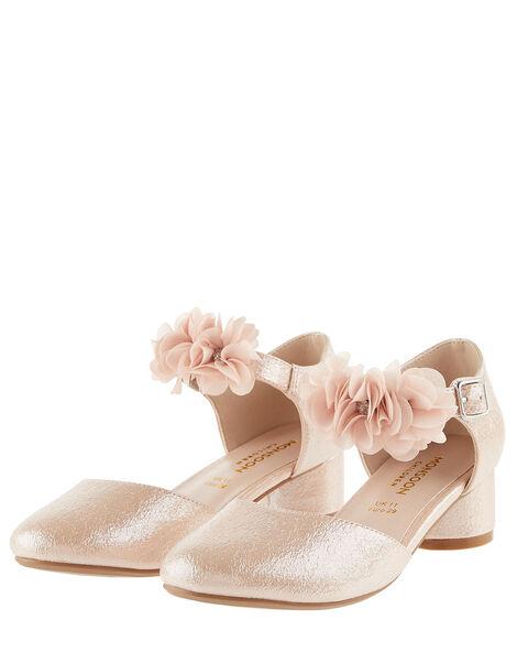 Textured Corsage Heels  Pink, Pink (PINK), large