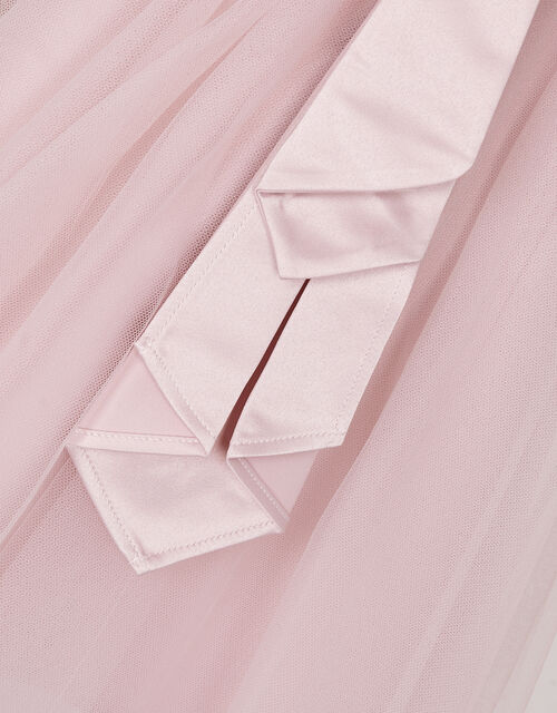 Baby Tulle Skirt Bridesmaid Dress, Pink (PINK), large