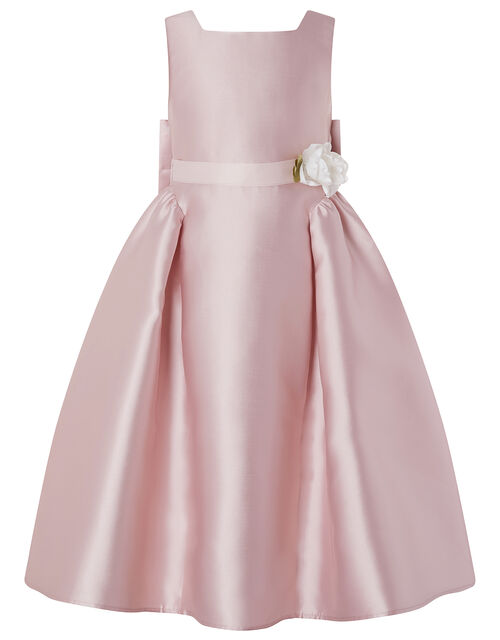 Cynthia High-Low Occasion Dress, Pink (DUSKY PINK), large