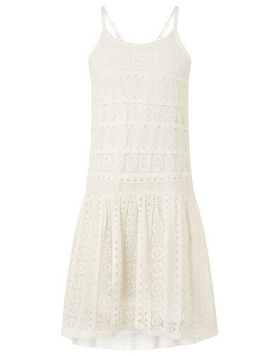 Cutwork Lace Dress Ivory, Ivory (IVORY), large