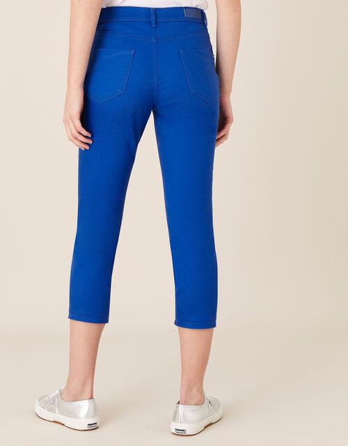 Idabella Cropped Jeans, Blue (COBALT), large