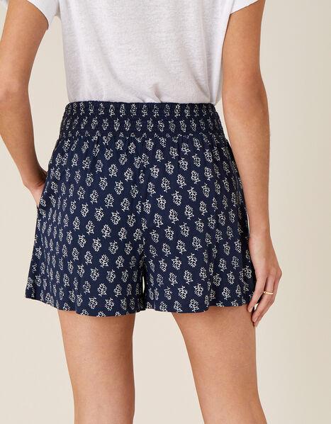 Printed Shorts  Blue, Blue (NAVY), large