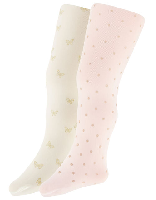 Baby Glitter Tights Set, Multi (MULTI), large