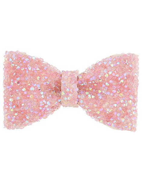 Olivia Dazzle Bow Hair Clip, , large