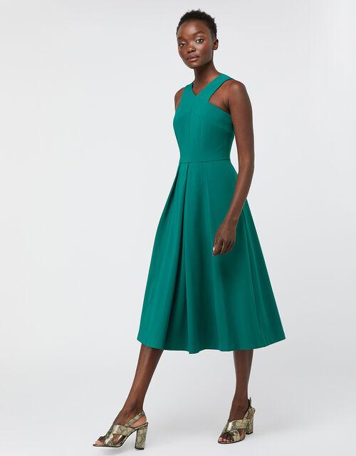 Penelope Midi Dress, Green, large