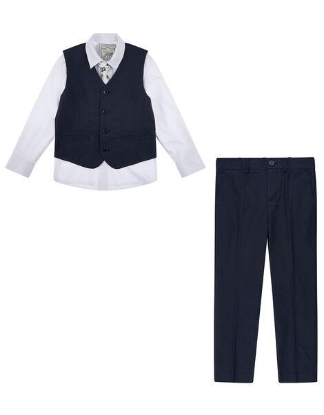 Cosgrove 4PC Suit Set Blue, Blue (NAVY), large
