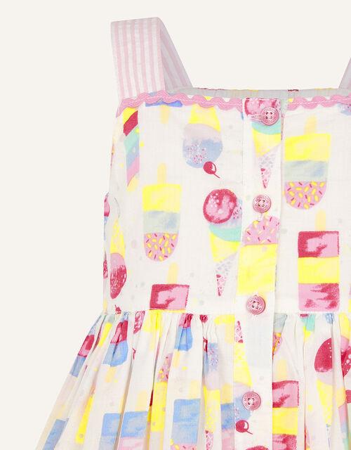 Baby Ice Cream Dress, Ivory (IVORY), large