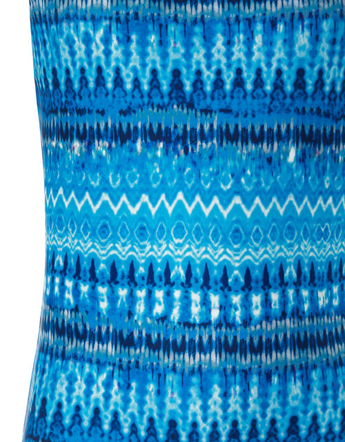 Cypress Tie Dye Swimsuit, Blue (BLUE), large