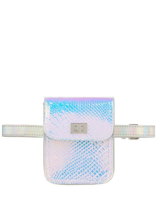 Sylvie Holographic Belt Bag, , large