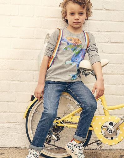 James Straight Leg Jeans Blue, Blue (NAVY), large