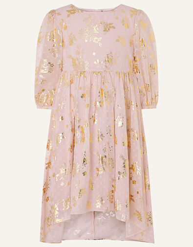 Sundance Foil Chiffon Tunic Dress  Pink, Pink (PINK), large