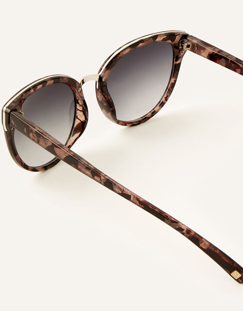 Perla Preppy Sunglasses, Natural (NEUTRAL), large