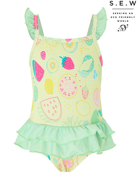 S.E.W Baby Berrie Fruit Swimsuit Yellow, Yellow (YELLOW), large