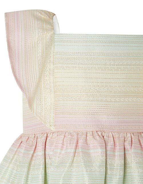 Baby Sherbet Rainbow Sparkle Dress, Multi (MULTI), large