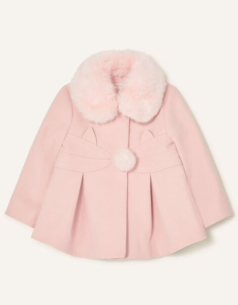 Baby Cat Coat Pink, Pink (PALE PINK), large
