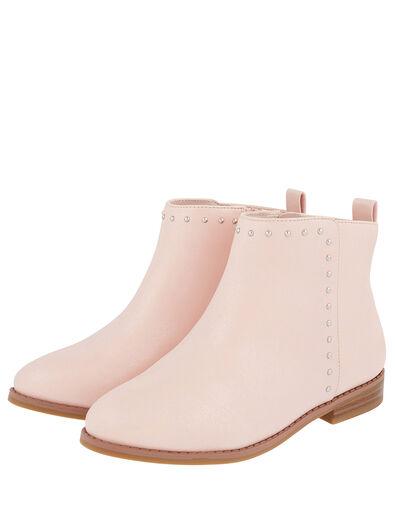 Latisha Stud Ankle Boots Pink, Pink (PINK), large