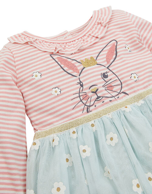 Newborn Bunny Disco Dress , Green (MINT), large