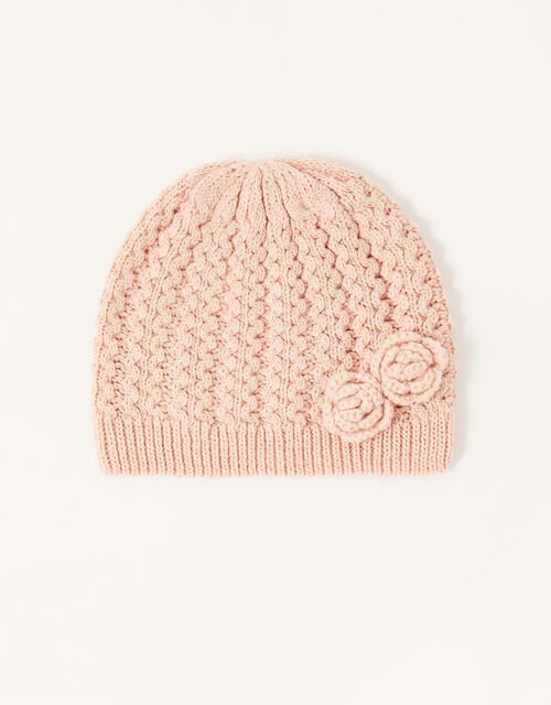 Daisy Sparkle Beanie, Pink (PINK), large