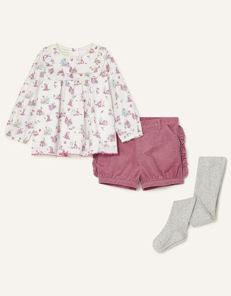 Baby Toadstool Outfit Set Ivory, Ivory (IVORY), large