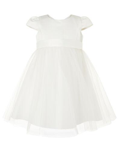 Baby Tulle Bridesmaid Dress Ivory, Ivory (IVORY), large
