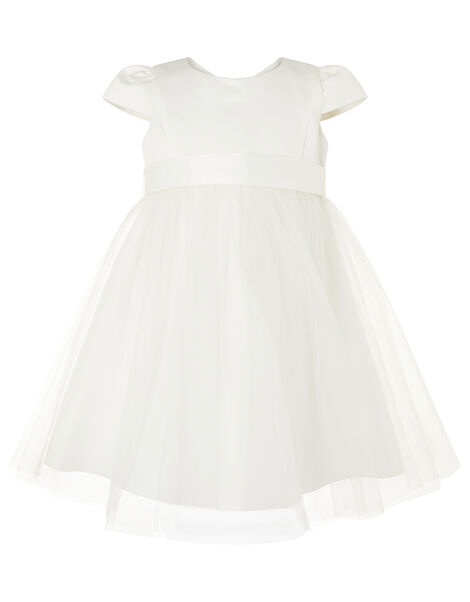 Baby Tulle Bridesmaid Dress Ivory, Ivory (IVORY), large