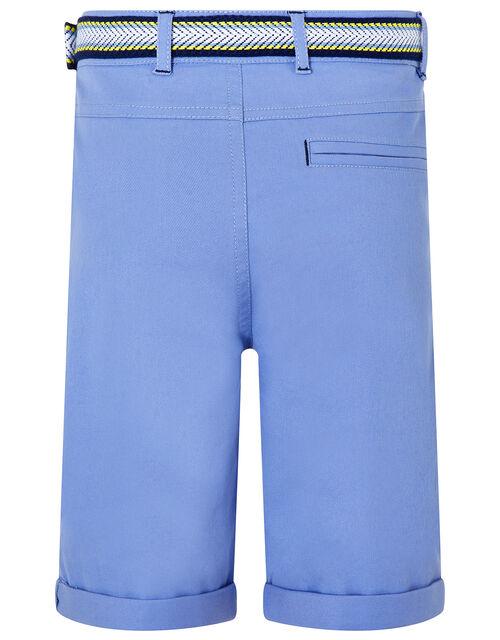 Blake Blue Shorts and Belt Set, Blue (BLUE), large