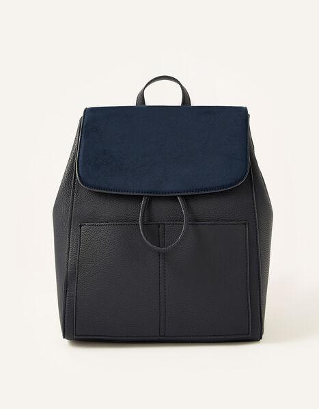 Paxton Pocket Backpack Blue, Blue (NAVY), large