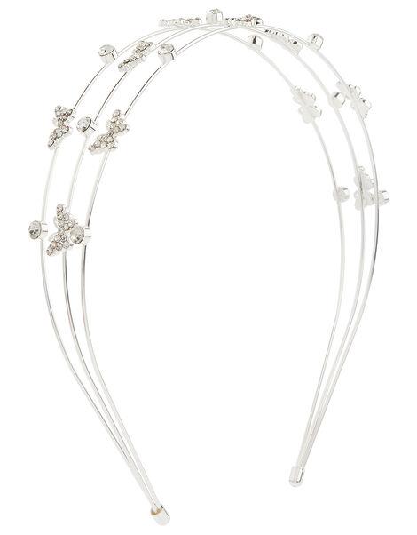 Sparkle Butterfly Multirow Headband, , large