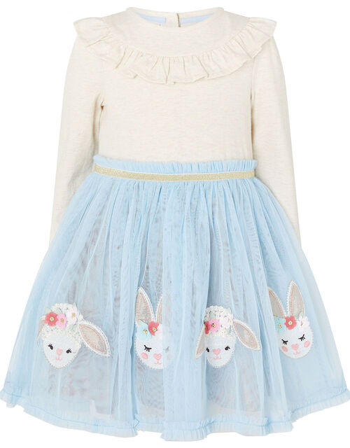 Baby Bunny Disco Dress, Blue (BLUE), large