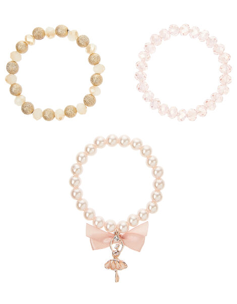 Valentina Ballerina Pearly Bracelet Set, , large