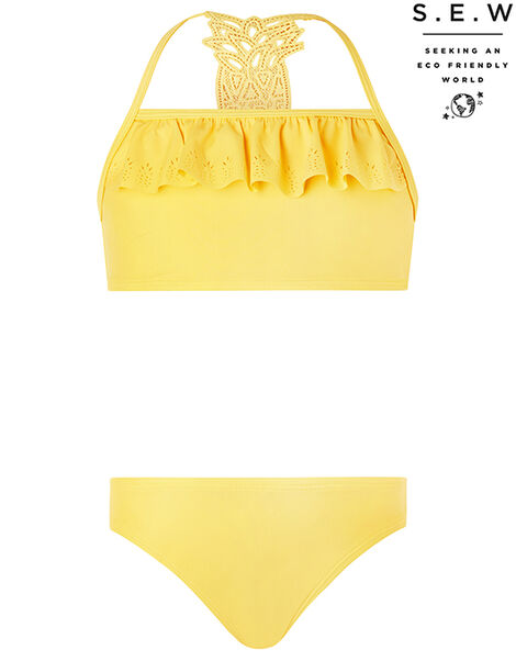 Pia Pineapple Bikini Set with Recycled Polyester Yellow, Yellow (YELLOW), large