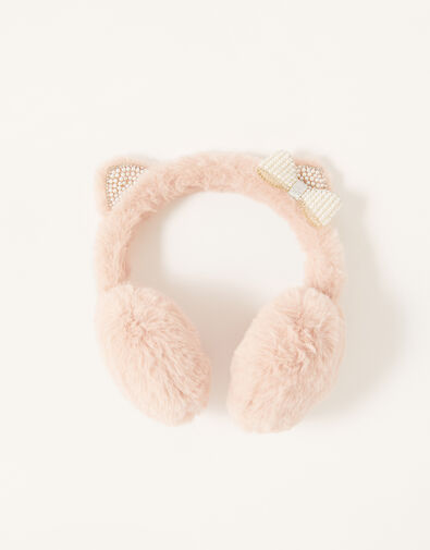 Pearly Cat Earmuffs, , large
