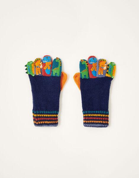 Corey Dino Novelty Gloves Multi, Multi (MULTI), large
