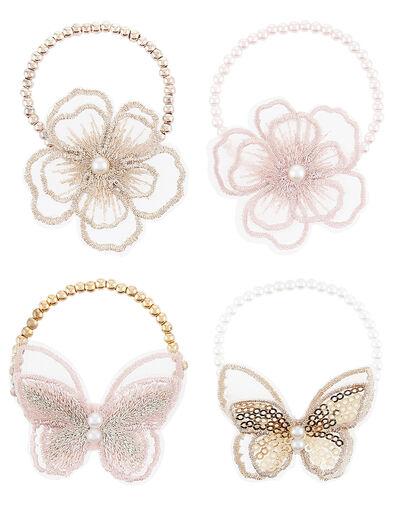 Sequin Lacey Bracelet Set , , large