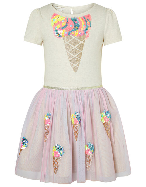 Iris Sequin Ice Cream Disco Dress, Multi (MULTI), large