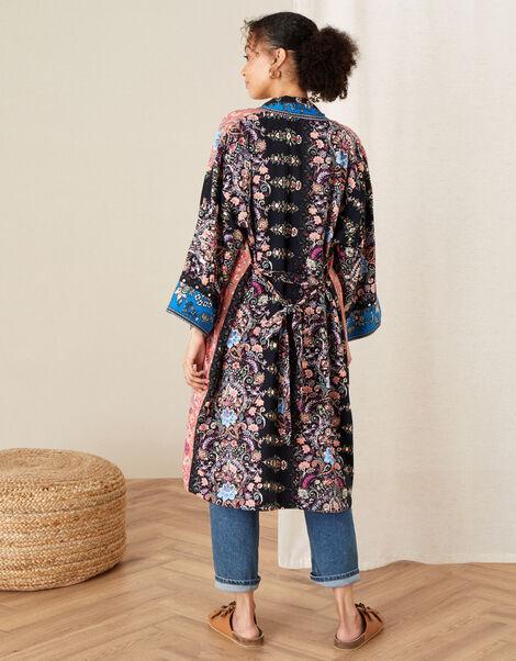 Floral Kimono in LENZING™ ECOVERO™ Orange, Orange (RUST), large