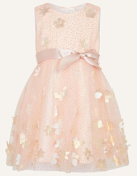 Baby Petal Glitter Dress Pink, Pink (PINK), large