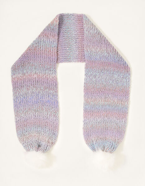 Nyla Space Dye Knitted Scarf , , large