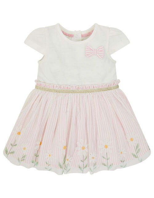Newborn Baby Daisy Disco Dress, Pink (PINK), large