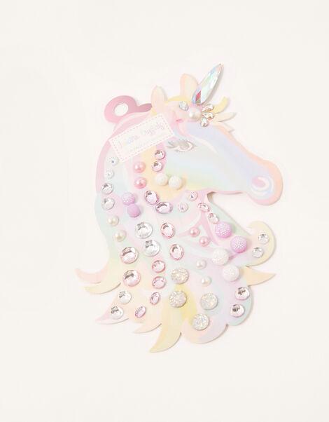 Unicorn Stick-On Crystal Gems, , large